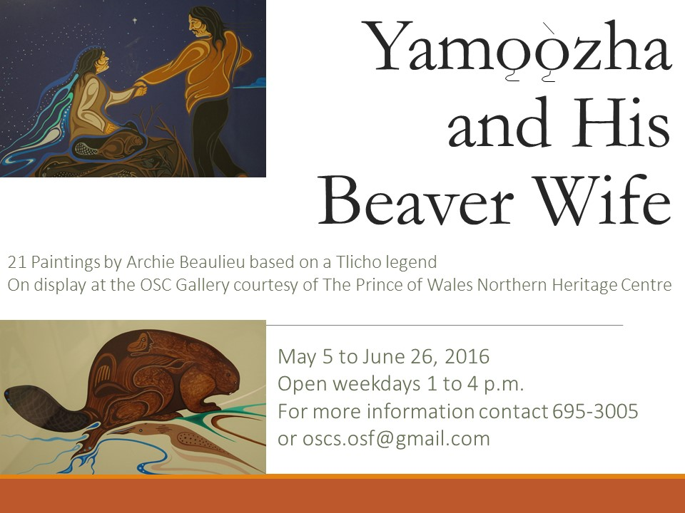 Yamozha and His Beaver Wife- poster