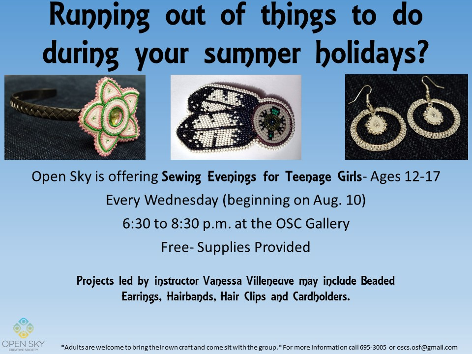 Teenage Girls Sewing Project