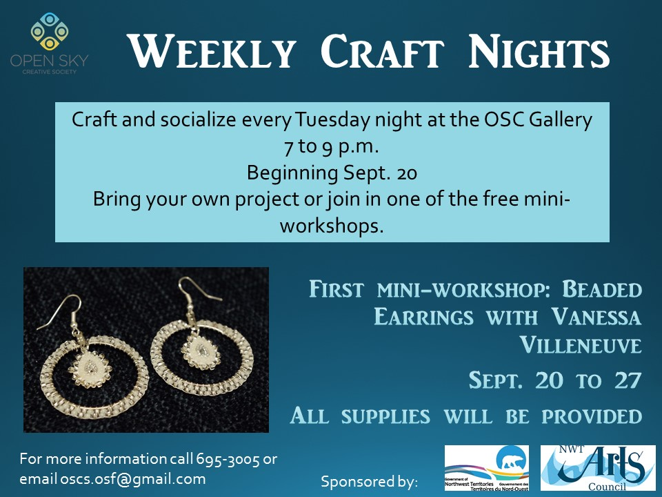 Craft Night Poster- Full Colour